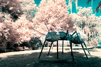 Ant Sculpture - Infrared