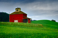 Palouse Cube Barn